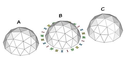 12角形ドーム ABC 俯瞰図 01