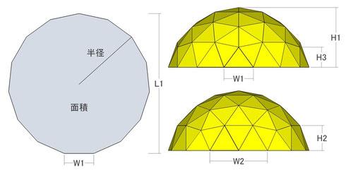 三角パネルの数 = 75枚