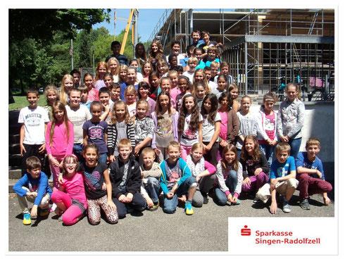 Klassenfahrt der Viertklässler auf Burg Wildenstein-2014