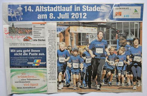 Stader Tageblatt 16. Juli 2012