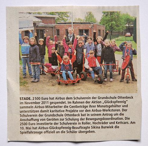 Stader Tageblatt 26. Mai 2012