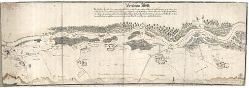 Bis 1803 bildete die Isar die natürliche Grenze zwischen dem Herzogtum und späteren Kurfürstentum Bayern und dem Hochstift Freising. Immer wenn sich die Isar nach einem Hochwasser ein neues Bett suchte, veränderte sich der Grenzverlauf.