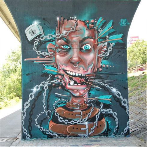 Dead Beat Hero & Nekros, Wien 2018