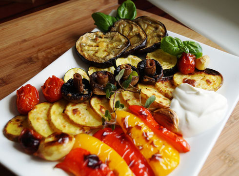 Gebackenes Gemüse