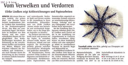 Westfälische Nachrichten vom 02.07.2014