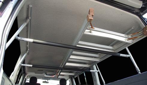ハイレース 車内キャリア 室内キャリア キャリア 収納 ラック  ボードラック トランポプロ トランポ 収納