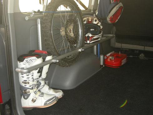 トランポ バイク モトクロス ハイエース キャラバン NV350