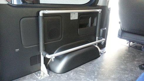 ハイエース トランポ キャリア バイク レジャー 仕事 職人棚 床貼りキット