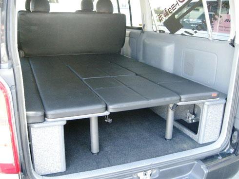 ハイエース MRT ベッドキット トランポ NV350 ベッド 車中泊
