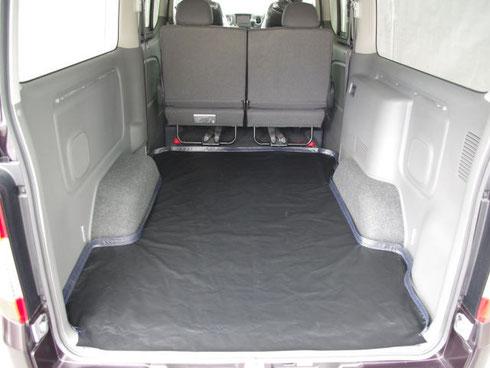 NV350 床 床パネル フロアマット ラゲッジ 防水
