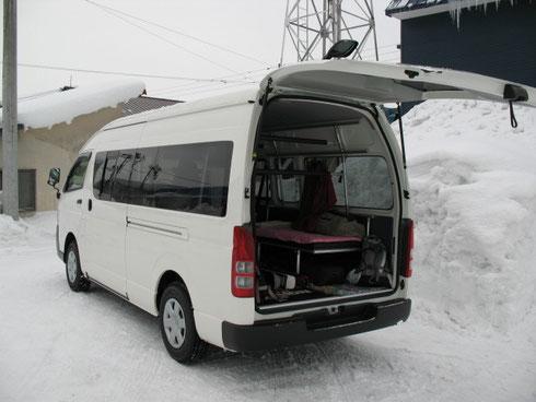 ハイエース スキー スノボ トランポ ベッドキット 床貼りキット NV350キャラバン