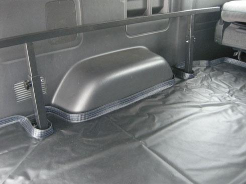 ハイエース ベッドキット フロアマット 床パネル 床貼り ラゲッジマット ラゲージマット