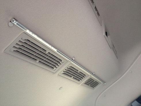 NV350センターカーテン 間仕切りカーテン