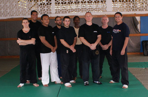 STAGE INSTRUCTEURS KRAV-MAGA GUYANE 2010