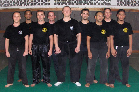 STAGE INSTRUCTEURS KRAV-MAGA GUYANE 2008