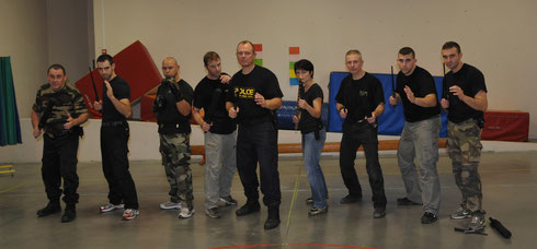 STAGE INSTRUCTEURS BATON TELESCOPIQUE CASTRES 2012
