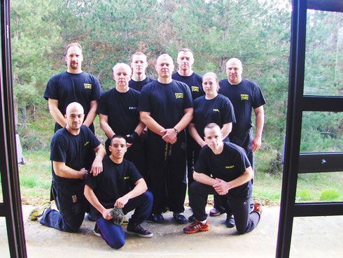 STAGE INSTRUCTEUR KRAV-MAGA/KRAV-SURVIVAL BARDIGUES (82) 2012