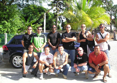 STAGE INSTRUCTEUR PROTECTION RAPPROCHEE GUYANE 2006