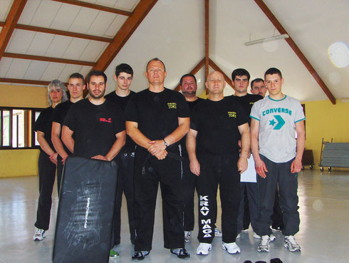 STAGE TECHNIQUE KRAV-MAGA RODEZ 2011