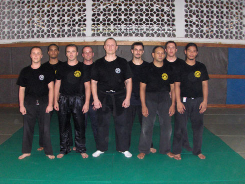 STAGE INSTRUCTEURS KRAV-MAGA GUYANE 2005/2006