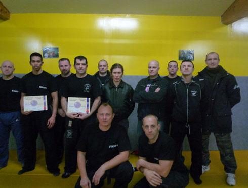 STAGE INSTRUCTEURS KRAV-SECURITY MONTPELLIER 2010
