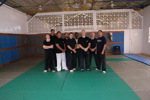 STAGE INSTRUCTEURS KRAV-MAGA GUYANE 2006