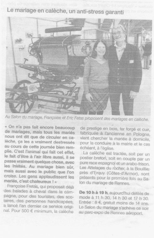 article ouest france 10/11/13