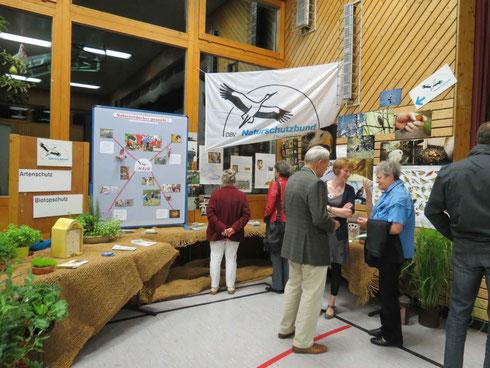 unser NABU-Stand bei den Karlsbader Naturtagen 2013 (Foto: Astrid Becker)