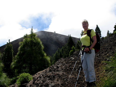 Letterboxing auf La Palma - Aufstieg zum Pico Birigoyo