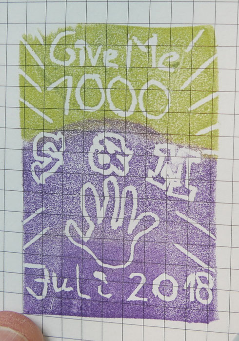Stempel des Hitchhikers