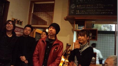 最後の挨拶風景           Photo  Onosan