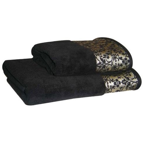 Black towels