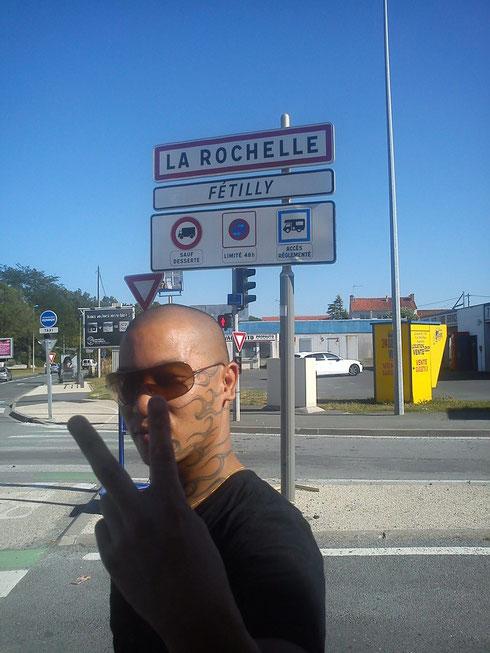 1 er étape La Rochelle !!!