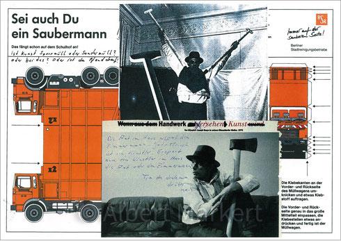 Albert Markert: Berliner Beuys Blätter 31, 1996