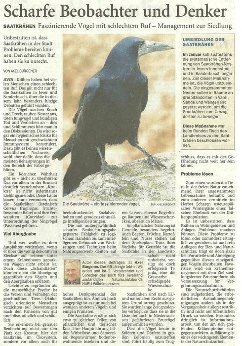Nord-West Zeitung v. 23.11.13