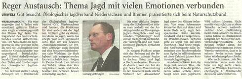 Wilhelmshavener Zeitung v. 15.2.14