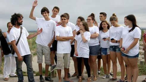 les jeunes bénévoles