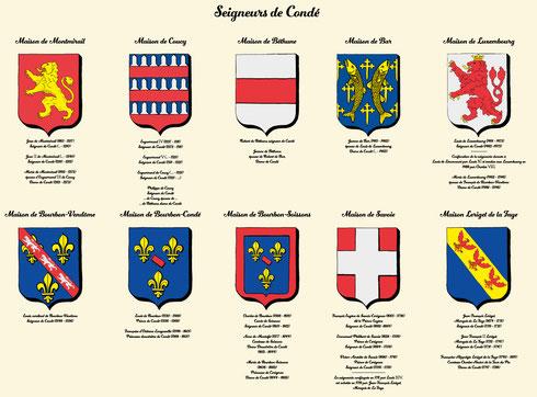Les seigneurs de Condé des origines à  la révolution (DR galerie des princes du château de Condé)