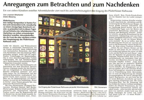 Künstler Wilhelm Schall Plüderhausen, Kunst kaufen, Kunst mieten.