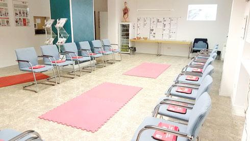 Unser Ausbildungsraum im Vereinsheim in der Amthausstraße 6, 76227 KA-Durlach