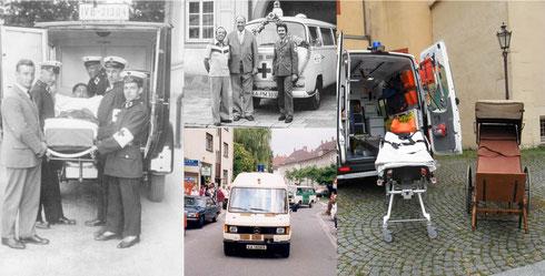 Einsatzfahrzeuge im Wandel der Zeit...