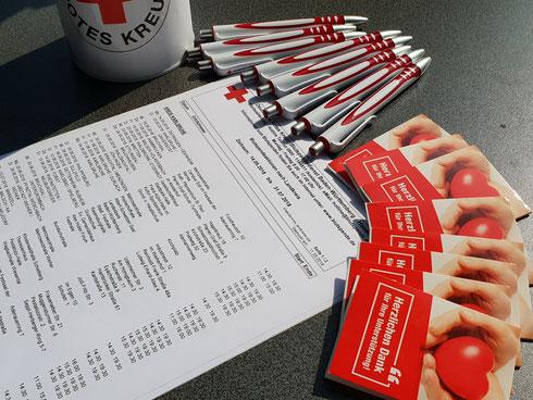 Dran denken: 1. Juni 2018 von 14.30-19.30 Uhr Blutspende in der Weiherhofhalle Durlach