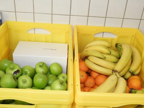 Frisches Obst darf da als Nachtisch natürlich auf keinen Fall fehlen...