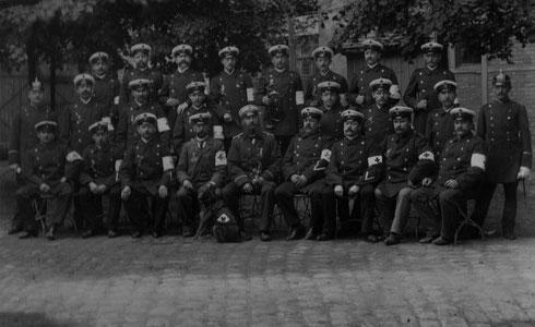 1898: Freiwillige Sanitätskolonne Militärverein Durlach