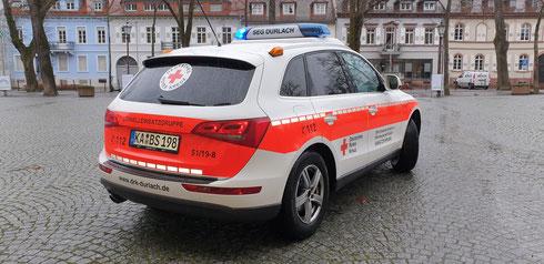"""Kleiner """"Rundum-Blick"""" um das neue Notfall-Fahrzeug"""
