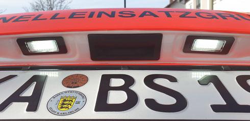 Umbau der äußeren Beleuchtungseinheiten des Notfall-Fahrzeuges auf LED