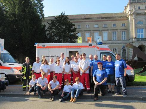 Einsatz beim Fiducia GAD Baden-Marathon am 16.09.2016