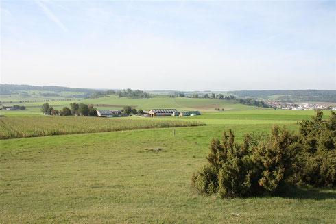 Zentralhügel und Kraterrand Foto:R.Selig