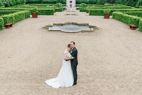Brautpaar Brautpaarshooting Schleswig Schloss Gottorf