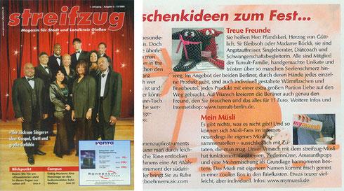 Streifzug - Stadtmagazin Gießen. 12/2008